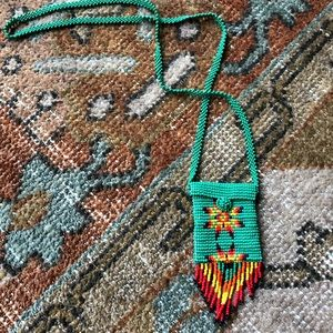 Jewelry - Native American Beaded Medicine Pouch